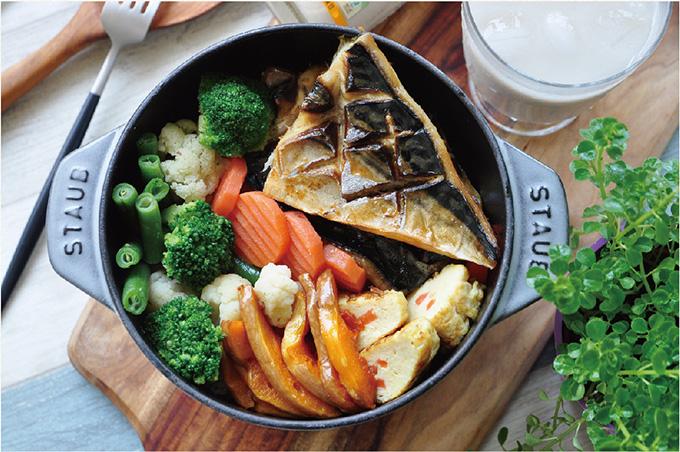 鹽漬鯖魚蓋飯